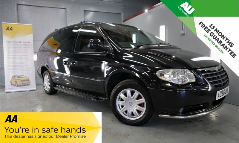 Chrysler Voyager Crd Grand Limited Xs Autopoint