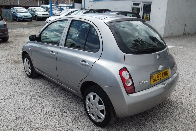 Nissan micra se lovely little 1 owner car vista value cars - Nissan uk head office telephone number ...
