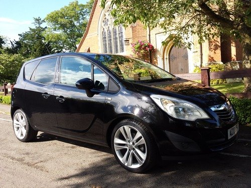 Vauxhall Meriva 1.4I 16V VVT TURBO  SE 120PS