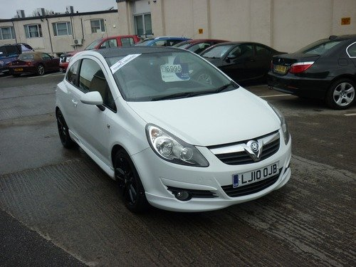Vauxhall Corsa 1.2 LIMITED EDITION 85PS Finance Available