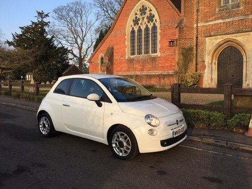 Fiat 500 1.4I-16V SPORT FULL HISTORY WITH 1/2 LEATHER TRIM
