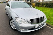 Mercedes S Class S320 CDI HUGE SPEC-FSH-LEATHER-SAT NAV-IMMACULATE