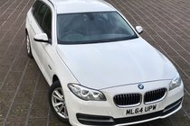 BMW 5 SERIES 520d SE TOURING AUTO 190 BHP TWIN TURBO