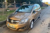 Vauxhall Zafira DESIGN CDTI LOW MILEAGE TOW BAR