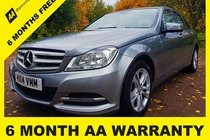 Mercedes C Class C220 CDI EXECUTIVE SE 6 MONTH AA WARRANTY - 12 MONTH MOT - FULL SERVICE - 12 MONTH AA BREAKDOWN COVER