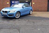 BMW 2 SERIES 218d SE  BUY NO DEPOSIT FROM £105  A WEEK T&C APPLY