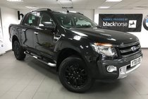 Ford Ranger 3.2TDCI 4X4 AUTO D/CAB WILDTRAK 200PS + Leather/Navigation/Rear Camera