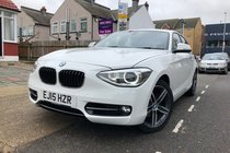 BMW 1 SERIES 118i SPORT.1 Owner/SatNav/Crusie/Sensors