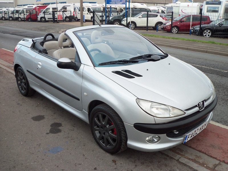 peugeot 206 2 0 se coupe cabriolet mick dwane. Black Bedroom Furniture Sets. Home Design Ideas