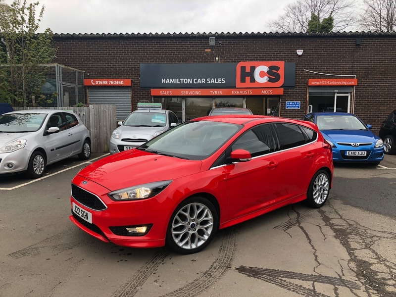 Ford Focus Zetec S 1 5 Tdci 120ps S S Hamilton Car Sales