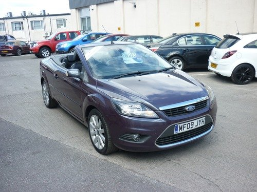 Ford Focus 2.0 TDCI CC-3 Convertible Finance Available