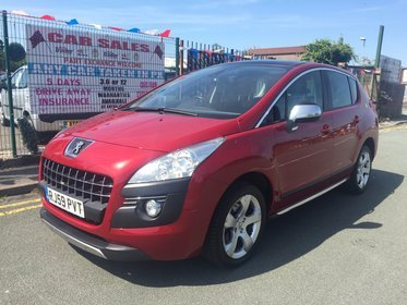 Peugeot 3008 1.6 THP 156 EXCLUSIVE 2009 (59) *** FULL GLASS PAN ROOF *** 12 MONTH AA BREAKDOWN COVER INCLUDED