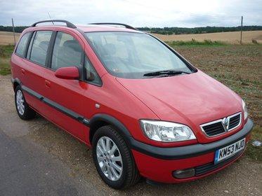 Vauxhall Zafira ELEGANCE 1.8 16V AUTOMATIC