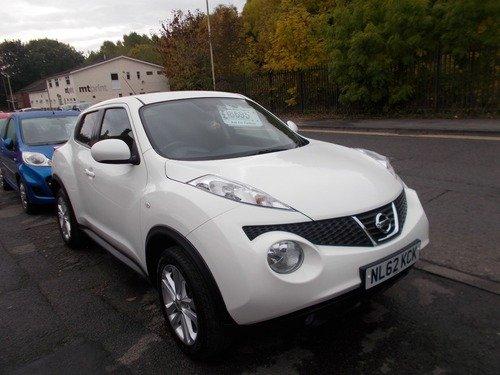 Nissan Juke 1.6 ACENTA CVT BUY NO DEP & £43 A WEEK T&C