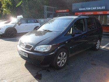Vauxhall Zafira 2.0DTI 16V BREEZE