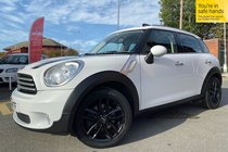 MINI Countryman COOPER D CHILLI/MEDIA PACK used car in white