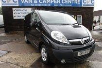 Vauxhall Vivaro BLACK 2700 CDTI SPORTIVE SWB NOT TRAFIC PRIMASTER