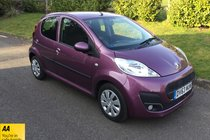 Peugeot 107 ACTIVE FULL SERVICE HISTORY AIR CON RADIO CD