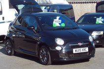 Fiat 500 TWINAIR S 35000 MILES SERVICE HISTORY