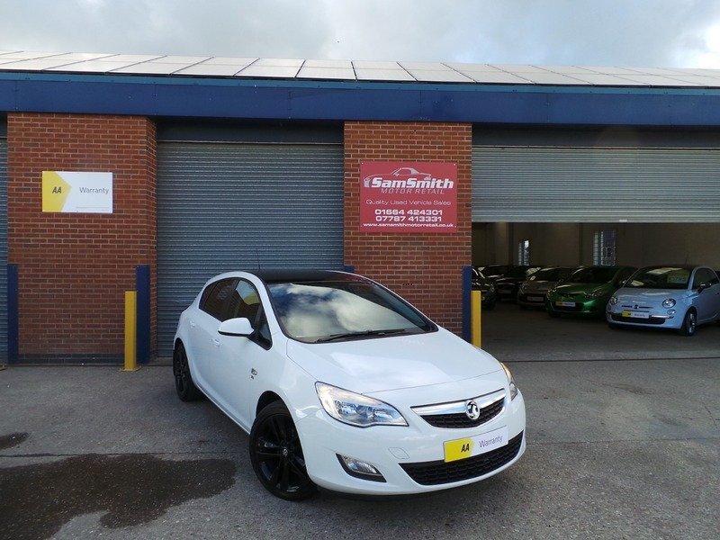 Vauxhall Astra EXCITE LIMITED EDITION   Sam Smith Motor ...