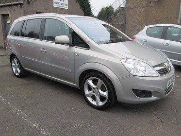 Vauxhall Zafira 1.8I 16V  ELITE 140PS