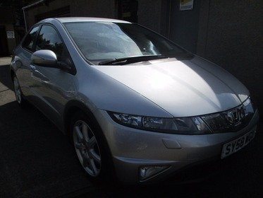 Honda Civic 1.8 I-VTEC EX- ONLY 42741 MILES - 12 MONTHS MOT, SERVICED, 3 MONTHS WARRANTY AND 12 MONTHS AA COVER INCLUDED