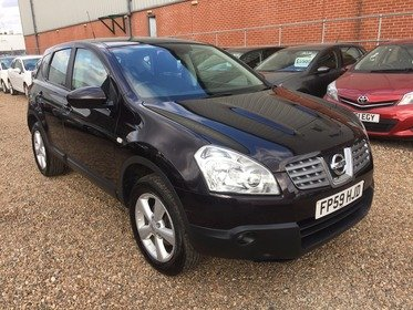 Nissan Qashqai ACENTA 1.6**2 FORMER KEEPER*1 KEYS*MOT DUE 20/06/2018*FREE 6 MONTHS WARRANTY*FREE 12 MONTHS AA BREAKDOWN COVER*FINANCE AVAILABLE