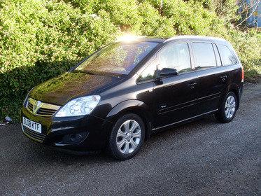 Vauxhall Zafira 1.6I 16V BREEZE PLUS