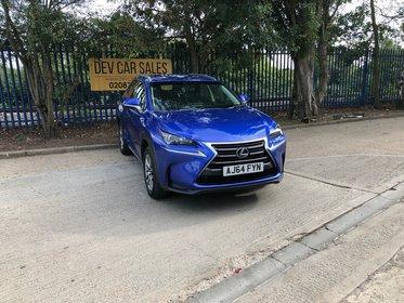 Lexus NX 300 2.5 SE E-CVT 4WD 5dr