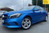 Mercedes A Class A 200 D SPORT PREMIUM used car in South Sea Blue Metallic