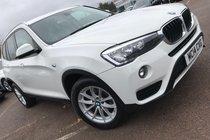 BMW X3 SDRIVE18d SE LEATHER NAVIGATION 1OWNER