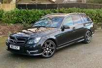 Mercedes C Class C220 CDI BLUEEFFICIENCY AMG SPORT PLUS