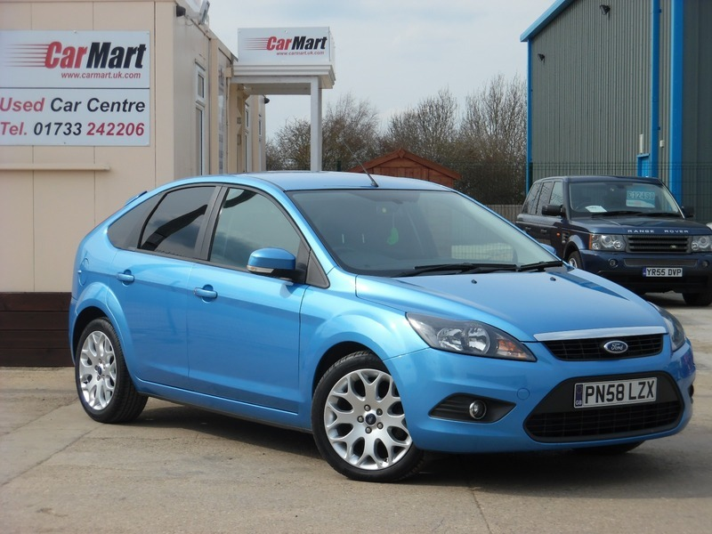 ford focus 1 6 tdci 110 zetec dpf car mart. Black Bedroom Furniture Sets. Home Design Ideas