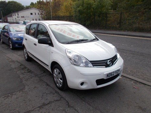 Nissan Note 1.5 DCI 90 VISIA - BUY NO DEPOIST & £30 A WK (T&C)