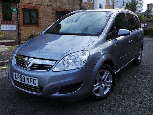 Vauxhall Zafira 1.6I 16V ACTIVE