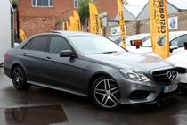 Mercedes E Class E220 BLUETEC AMG NIGHT EDITION PREMIUM