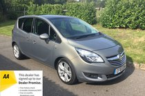Vauxhall Meriva SE AUTOMATIC FULL MAIN DEALER HISTORY LEATHER UPHOLSTERY