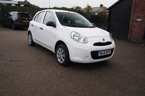 Nissan Micra VISIA £30 YEAR ROAD TAX ! 1 OWNER FROM NEW ! 12 MONTHS MOT ! SERVICE ! BLUETOOTH !