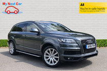 Audi Q7 TDI QUATTRO S LINE REAR DVD SCREENS!