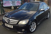 Mercedes C Class C 220 CDI SPORT AUTO **FULL GLASS PAN ROOF **AUTO XENONS **AUTO FOLDING MIRRORS **LADY OWNED