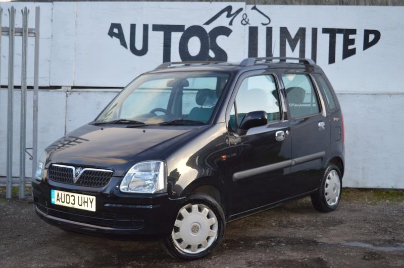 Vauxhall Agila 1 2I 16V DESIGN | M&J Autos Limited