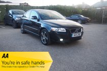 Volvo S40 DRIVE SE EDITION START/STOP ZERO ROAD TAX ! FULL SERVICE HISTORY ! FULL BLACK LEATHER !