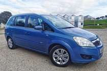 Vauxhall Zafira DESIGN 16V E4 #7seater #FinanceAvailable