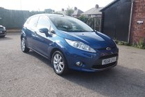 Ford Fiesta 1.25 ZETEC 82BHP FULL SERVICE HISTORY ! 42,225 MILES 99% FINANCE APPROVAL !