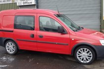 Vauxhall Combo CDTI CREWVAN