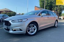 Ford Mondeo ZETEC ECONETIC TDCI POWERSHIFT used car in Metallic Silver
