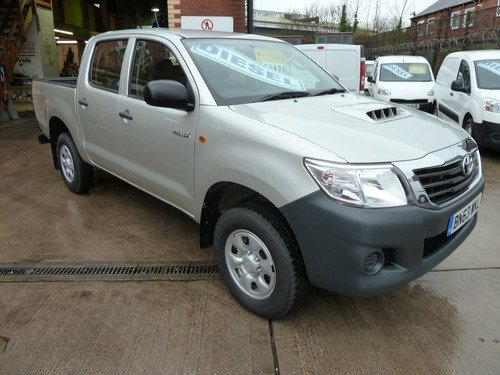 Toyota Hi Lux HL2 4X4 D-4D Double Cab 2.5D 142 bhp
