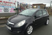 Vauxhall Corsa SXi 1.2i 16v 5DR 2007/56 *** 1 LADY OWNER FROM 2007 *** 2 KEYS *** 12 MONTH MOT INCLUDED FOR THE NEW OWNER