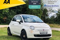 Fiat 500 1.2 Pop Dualogic (s/s) 3dr PETROL AUTOMATIC (SOLD)