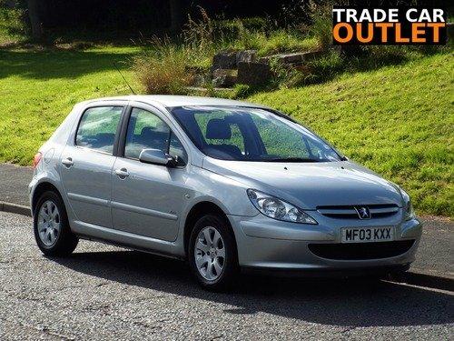 Peugeot 307 1.6 16V RAPIER A/C+ NEW MOT